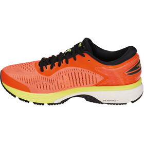 asics Gel-Kayano 25 Shoes Men Shocking Orange/Black